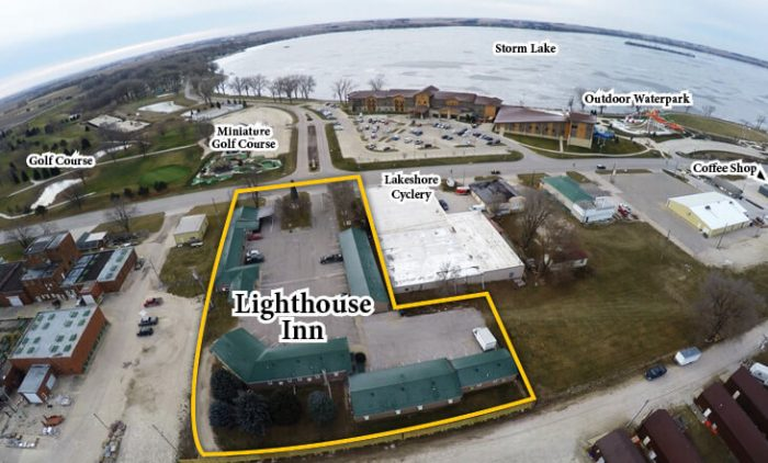 lighthouse inn aerial